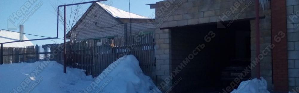 Одноэтажный жилой дом 77 кв.м. на участке 20 соток в с. Сырейка Кинельского района, Самарской области