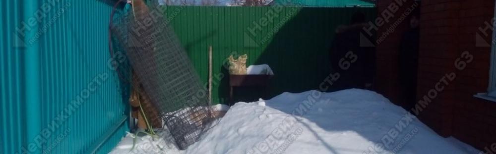 Продажа  жилого дома 38 кв.м.с земельным участком 1,23 соток в г. Самаре, Советский район, первая линия ул. Карбышева